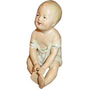 SOLD Antique Piano Baby - Small Size - Sweet Face