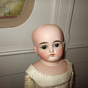 Early Closed Mouth Kestner Doll with Pensive Look