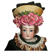 Beautiful Bonnet for Your French Fashion Doll