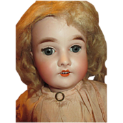 Antique Queen Louise Doll - Extremely Pretty Face - Beautiful Clothing