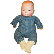 Heartbreaking Antique Bisque Baby Doll - Bye-Lo Baby