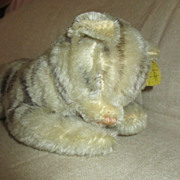 Sweet Steiff Sleeping Kitty for Your Bisque Head Doll