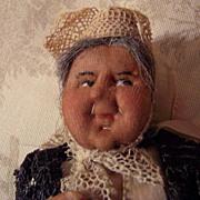 "Tiny Antique 8"" Ravca Doll w/Tags - Original"