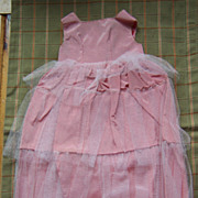 Pink Taffeta Dress for Cissy