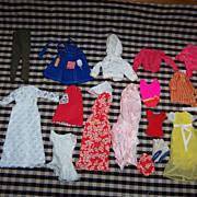 Nice Group of Vintage Barbie Clothing