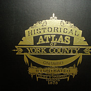 REDUCED Historical Atlas of York County Ontario