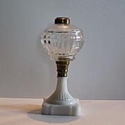 Antique 1860,s Oil Lamp