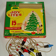 Joy christmas lites in original packaging