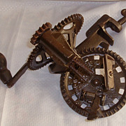 REDUCED Antique apple peeler by Hudson Parer Company