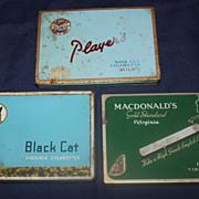 Canadian cigarette tins
