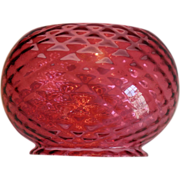 REDUCED Gas Oil Quilted Cranberry Shade
