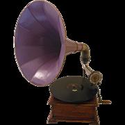 Antique Pathe Omnibus Phonograph -- Big Bold Sound -- Sassy Symphonic