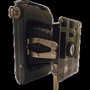 Art Deco Kodak Jiffy Six-20 Camera -- Vintage Viewfinder Foldout Camera