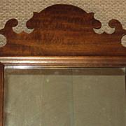 SALE Antique Chippendale Style Mirror c. 1880's