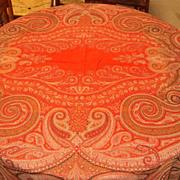 SALE Antique Paisley Shawl 1800's