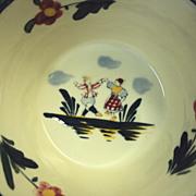 SALE Quimper style Bowl