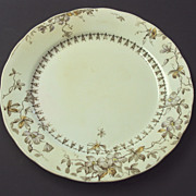 SALE English Staffordshire Wedgwood polychrome plate