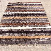 SALE Oriental Rug Goat Hair Kilim Hand woven Bedouin Tribal