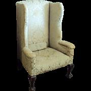 SALE 1700's Queen Ann Chair, Cabriole legs, Pad Foot