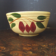 SALE Watt Pottery American Red Bud or Teardrop Bowl  #6
