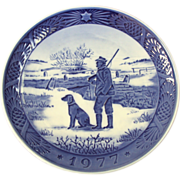 1977 Royal Copenhagen Christmas Plate