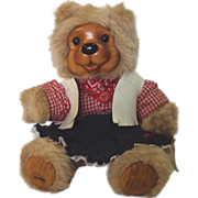 "SALE Robert Raikes Bear ""Bonnie"" 16 inch#17022"