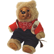 "SALE Robert Raikes Bear ""Jessie"" #17021 16 inch"
