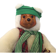 SALE Robert Raikes Bear Santa's Elf