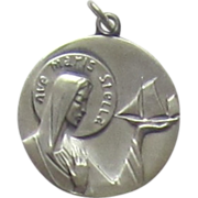 Beautiful Sterling Silver Medal