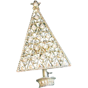 Vintage Eisenberg Ice Rhinestone Christmas Tree Pin