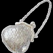 Wallace Sterling Silver Miniature Purse