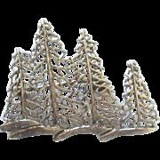 Vintage Sterling Silver Trees Brooch/Pin