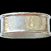 VINtAGE STERLING SILVER OVAL NAPKIN RING - SHREVE & CO.