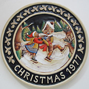 Genuine Bavarian Plate-1977