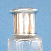 Vintage Sterling Silver and Glass Vanity Jar