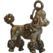 Sterling Silver Poodle Charm