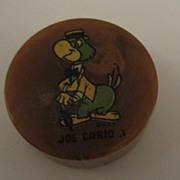 Joe Carioca Bakelite Pencil Sharpener