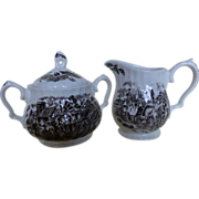 Myott Royal Mail Sugar & Creamer set