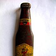 REDUCED Vintage 1940's Esslinger Beer Figural Bottle Opener Advertising Muth