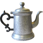 SOLD Vintage WILTON Columbia Armetale Pewter Teapot Tea Coffee Pot RWP