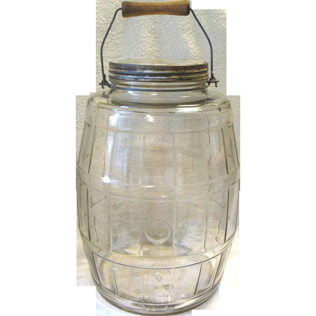 Vintage Glass Jar 92