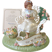 SALE Lenox For My Mother Child's Garden of Love Musical Figurine Large New In ...