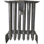 SOLD Antique Primitive Tin CANDLE MOLD 12 Tube Tall Tapers  Pennsylvania Estate