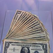 1957B Silver Certificates 24 bill lot