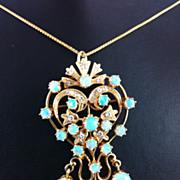 SALE Opal Brooch/Pendant
