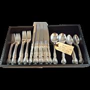 Gorham Sterling flatware service for 8