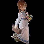 "SALE Lladro, ""School Days"" figurine"