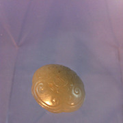 SOLD Chinese Jade Button