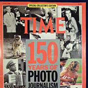 Time Magazine Special Collector's Edition Fall 1989 150 Years of Photo Journalism