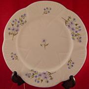 Shelley Blue Rock 8 Inch Plate Fine Bone China 13591